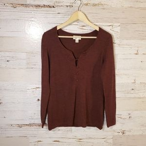 LOFT wool/cashmere sweater
